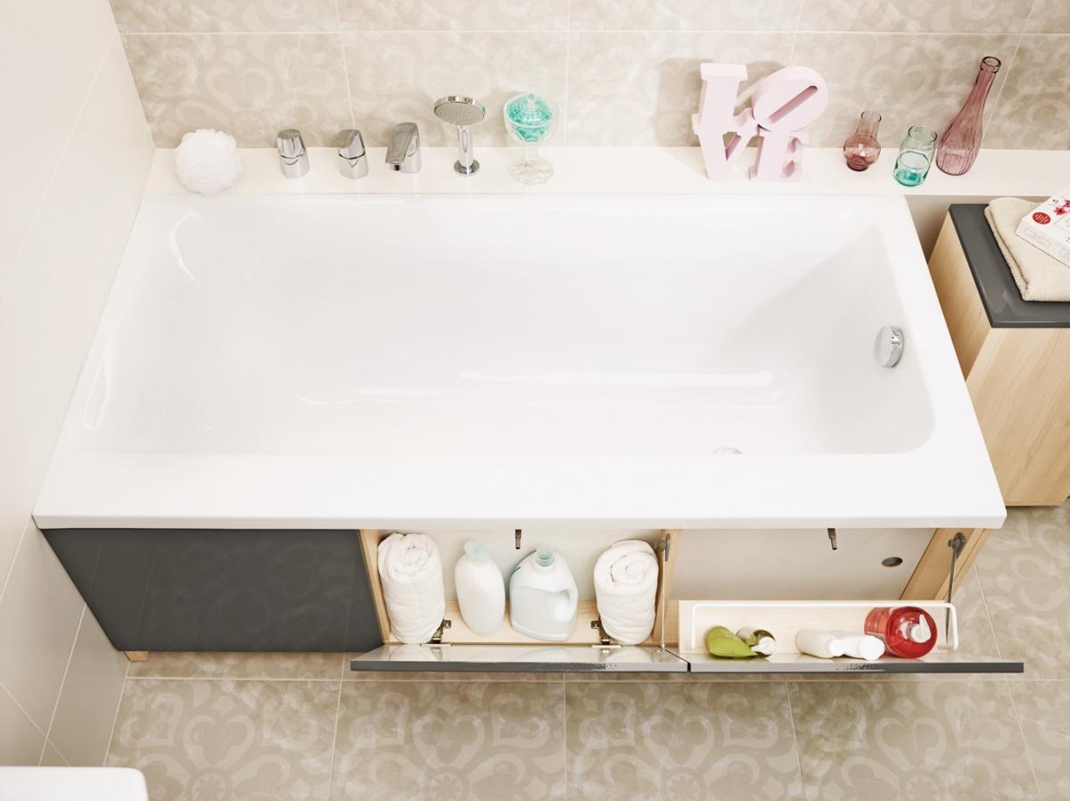 Ящик под ванной своими руками